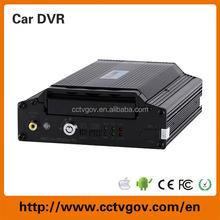 Bus CCTV System MDVR, Mobile DVR for Bus, Taxi, Police Car, Truck G-Sensor GPS 4CH D1 DVR System