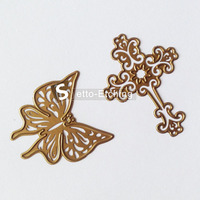 Custom metal die cutting stencil for scrapbook