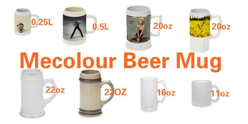 mecolour beer mug