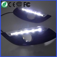 For FORD FOCUS 3 Compartments LED DRL Bulb Car Daytime Running Lights LED Fog Lamp 12V 35W