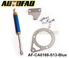 Autofab- motor kit amortecedor para nissan 200sx s13 180sx 240sx silvia sr20 sr20det( curso 305mm- 325mm) af- ca0188- s13- azul