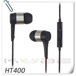 Best fashion funcy quality mobile phone earphone with mic