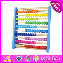 2015 Mutifunctional Kids wooden abacus toy,Colorful wooden toy abacus rackAbacus counting frame beads wooden calculator W12A010