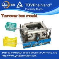 plastic crate mould professional stackable crate mould factory plastic crate box mould China