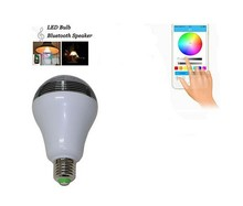 2015 New Style Changie Color Play Music Smart Bluetooth Led Light Bulb