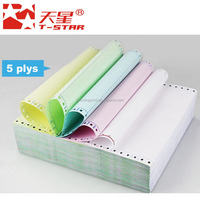 T-Star carbonless copying paper computer typing paper continuous form paper