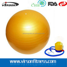 High quality hot selling 65cm body building massage gym ball