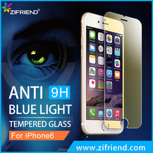 Factory supply 0.3mm 2.5D 9H Anti Blue Light Tempered Glass Screen Protector