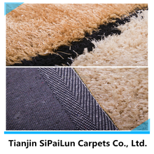 super shaggy bedroom in house polyester carpets tianjin