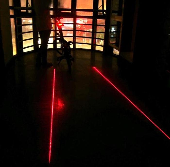 Лазерный проектор для велосипеда. Купить, Бесплатная доставка. Цена 690 рублей