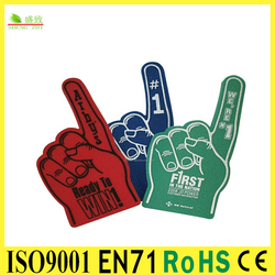 Best seller EVA inflatable cheering sticks,cheering hand with good quality