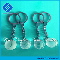 With ISO9001Trade Assurance Gold Supplier Crystal Gifts and Crafts Key Chains Crystal For Sports New Year Souvenirs Arts Gifts