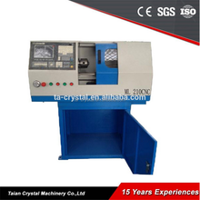 Flat Bed Educational Portable CNC Lathe ML210