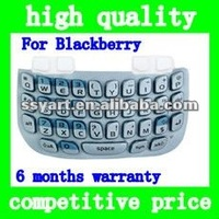 For BlackBerry Curve 8520 Replacement Repair Part Keypad Keyboard - Blue