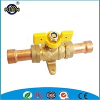copper pipe ball gas valve for industrial stove