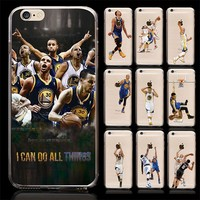 Basketball Star Curry Mobile Phone Case For iPhone 5 6 6 Plus Cover