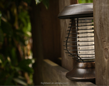 2 LED,Shenzhen mosquito killer lights,Stainless steel solar mosquito killer lamp with 2 LED,solar light to Nepal