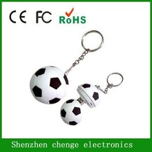 Funny shaped football usb flash drive, cute promotion gift cartoon usb flash drive