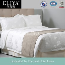 ELIYA Hotel Bed Linen 100% White Cotton Fabric Used Hotel Bed Sheets