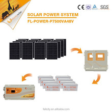 High quality most competitive hot sale 7.5kva solar power system for home Africa