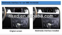 Multimedia interface for Audi A4 A5 Q5 GPS Navi-Bluetooth-Parking assist built-in & DVD (optional) 4 in 1