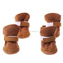 Lovely Warm Adjustable Pet Dog Puppy Winter Cotton Anti-slip Snow Cozy Shoes Boots XL/L/M/S/XS