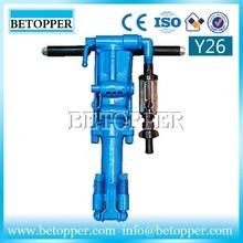 Y26 pneumatic rock hammer drill