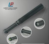 3 Watt led riot baton flashlight with telescope and flexible for self defense light