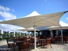Hot sale 4M big UV resistant outdoor beach umbrella