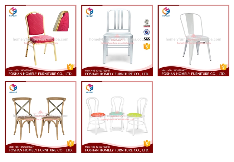 Event aluminum cafe side chair for bar