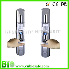 Sliding Cover Keypad Network Fingerprint Door Lock (HF-LE211)