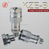 KZE-B Hydraulic Filters Type female & male threaded quick coupling