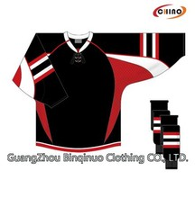 Sublimation Sports New Model Hockey Jersey Supplier
