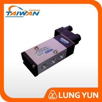 double acting 5/2 electric solenoid valve pneumatic air valve