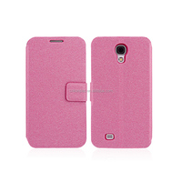 Flip slim leather case for Samsung S4/S5 with Card slot