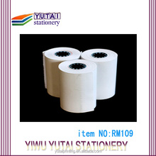 Extremely hot thermal fax paper rolls
