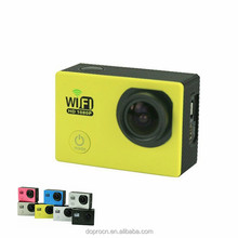 remote control j4000 wifi waterproof action camera with accessories
