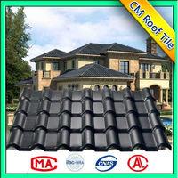 ASA PVC color steel sheet/ waterproof ASA PVC roof tiles