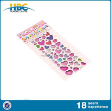 Widely Use High Quality Low Price Wholesale Adhesive 3D Epoxy Stickers For Kids