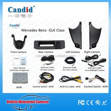 3D 360 degree camera bird view around view car aerial view parking system for GLK Class