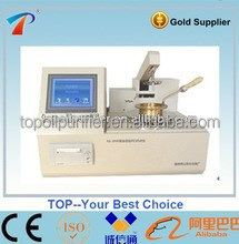 Perfect reaching the industry requirement of UK and EU really hot sale automatic flash point testing plant