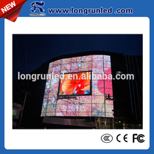 Newest good quality 22500 dots/sqm outdoor full color advertising video led display