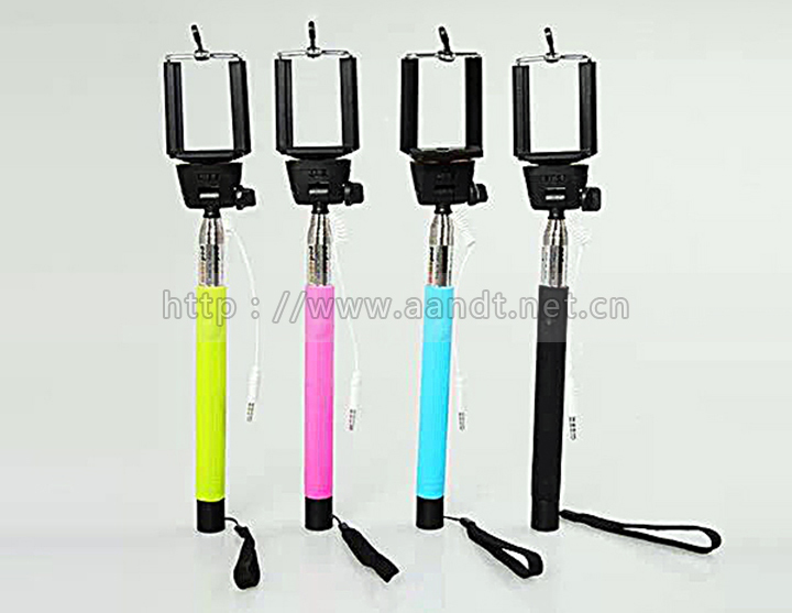selfie stick Monopod+Camera Wireless Bluetooth Remote Control Handheld for iPhone and samsung