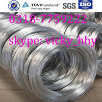 Electro-galvanized wire factory produce galvanized wire