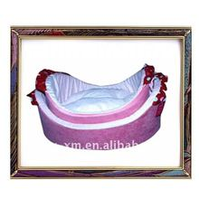 2012 hot selling pink color warm and soft pet sofa for dog and cat ,dog sofa ,cat sofa