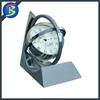 Metal Desk Globe Clock