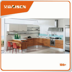 Reasonable & acceptable price wood cupboard design