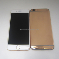 for iphone 6 plus replacement housing ,24K mirror finish rose gold housing for iphone 6,custom logo