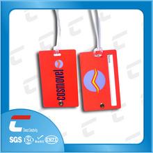 Factory Price custom printing shaped plastic travel ID pvc luggage tag