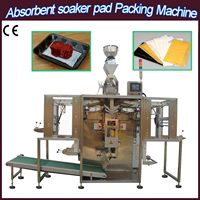 seafood packing pad soak pads packing machine